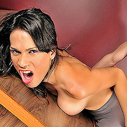 Tranny hellen sandorran in sex action.
